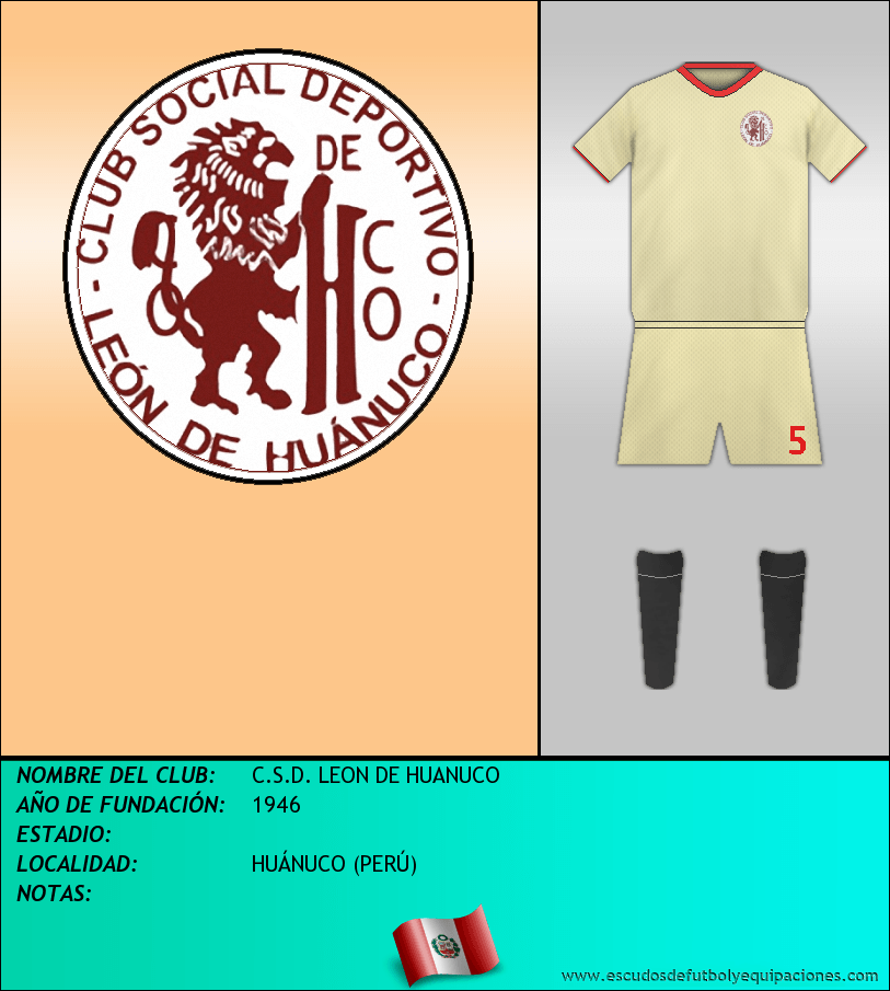 Escudo de C.S.D. LEON DE HUANUCO