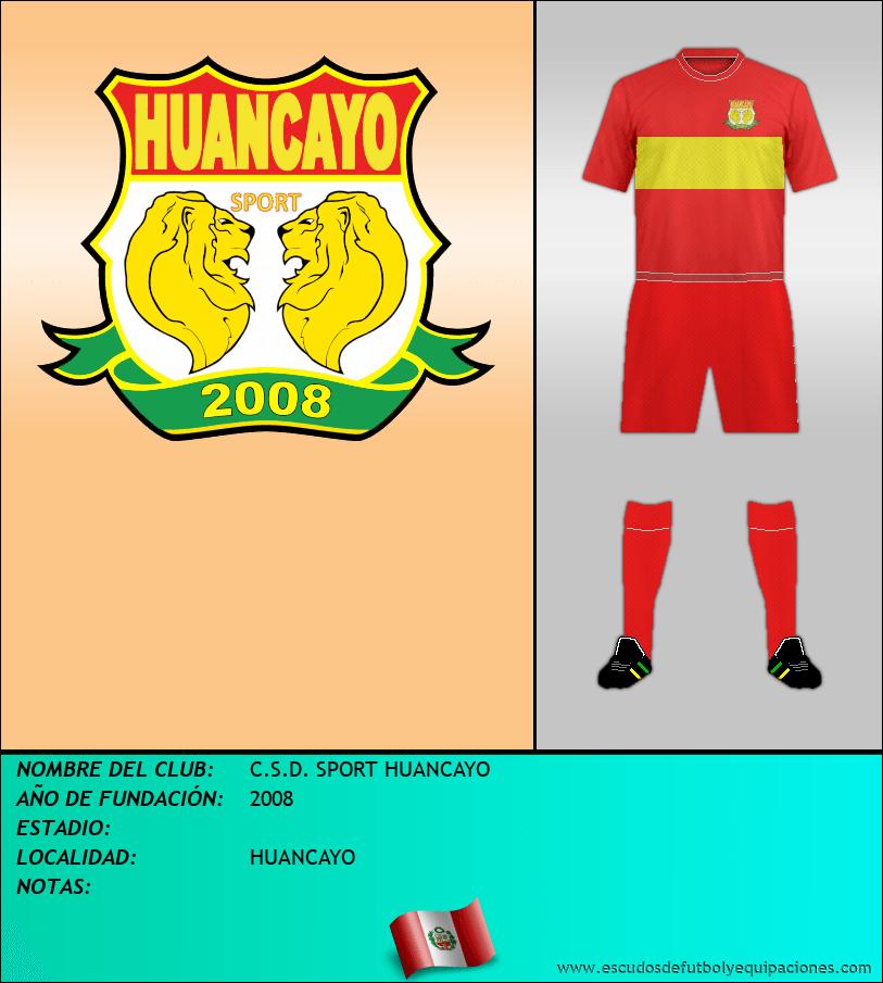 Escudo de C.S.D. SPORT HUANCAYO