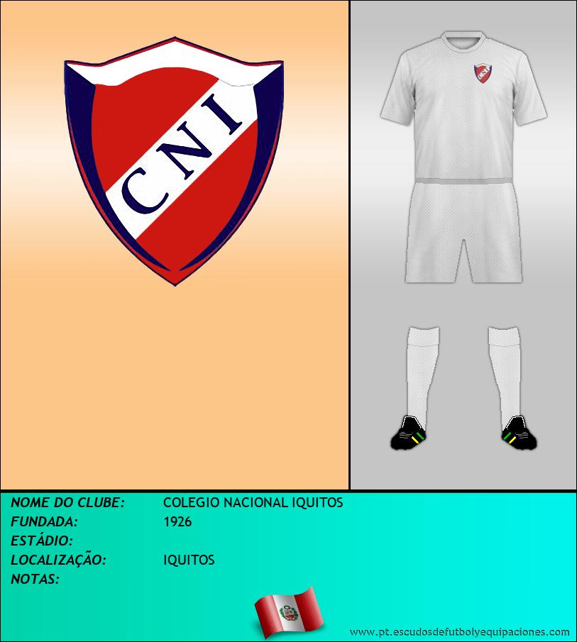 Escudo de COLEGIO NACIONAL IQUITOS
