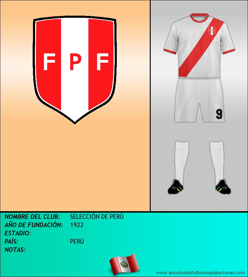 Escudo de SELECCIÓN DE PERÚ
