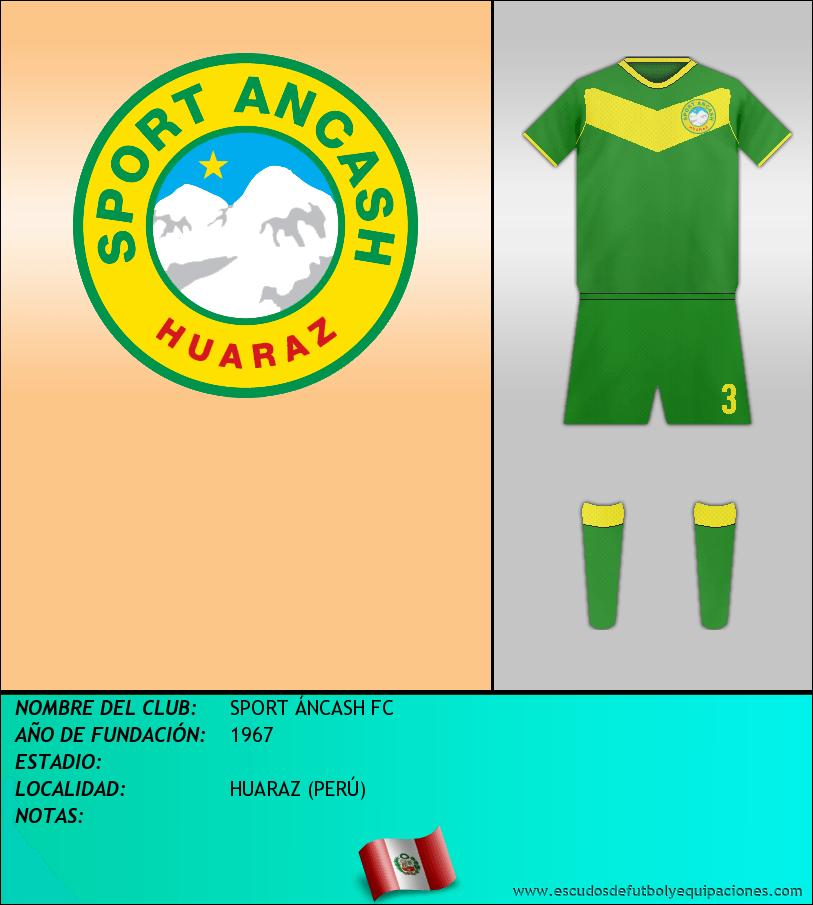 Escudo de SPORT ÁNCASH FC