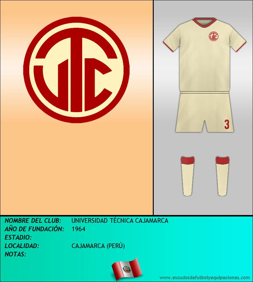 Escudo de UNIVERSIDAD TÉCNICA CAJAMARCA
