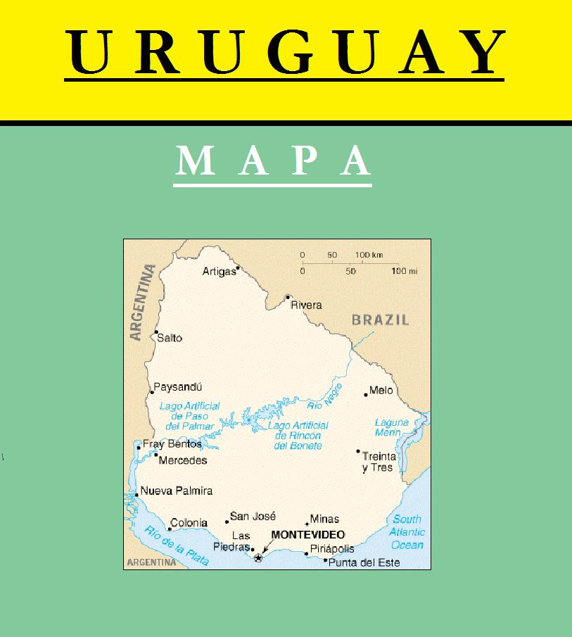 Escudo de MAPA DE URUGUAY