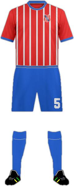 Equipación CENTRAL ESPAÑOL F.C.
