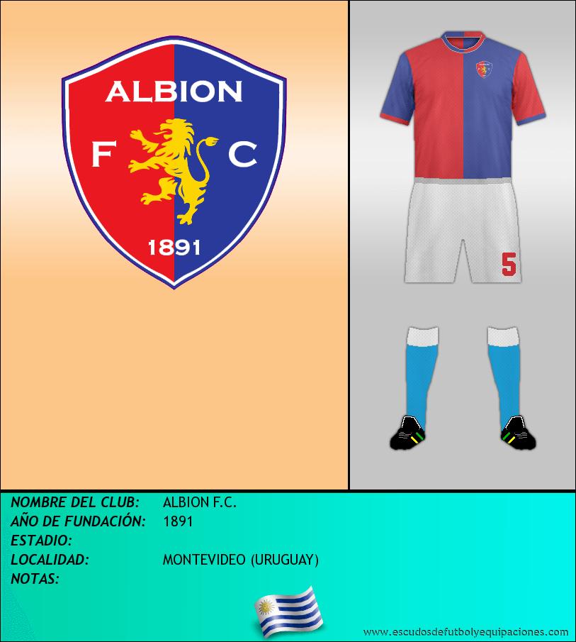 Escudo de ALBION F.C.