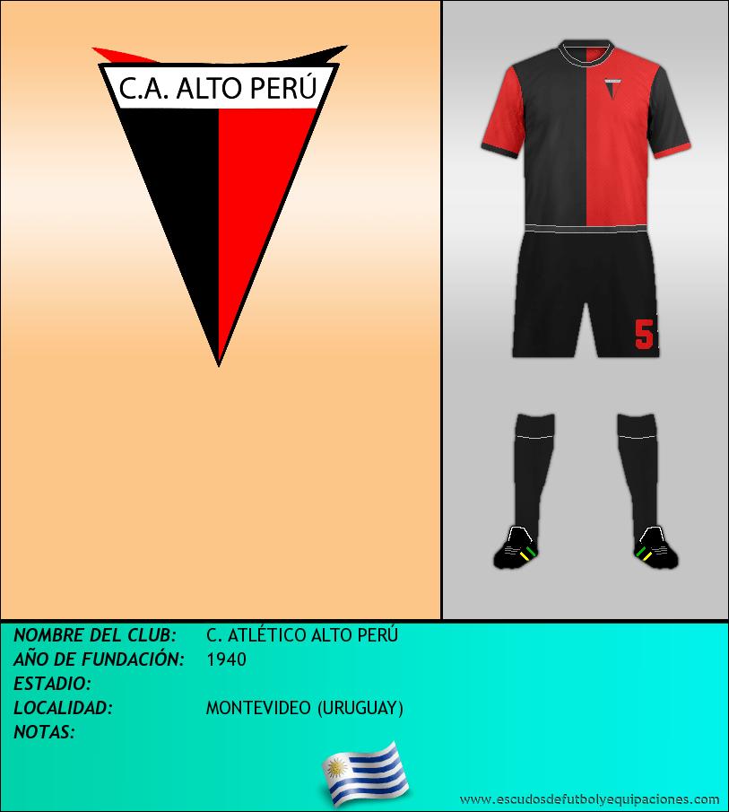 Escudo de C. ATLÉTICO ALTO PERÚ