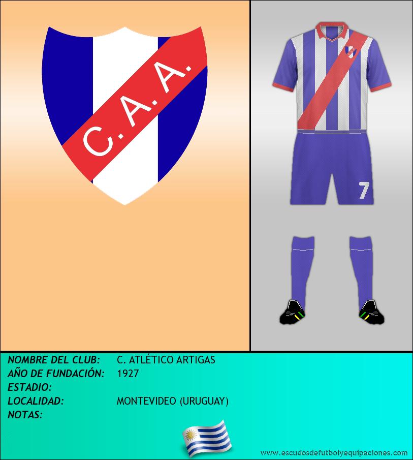 Escudo de C. ATLÉTICO ARTIGAS