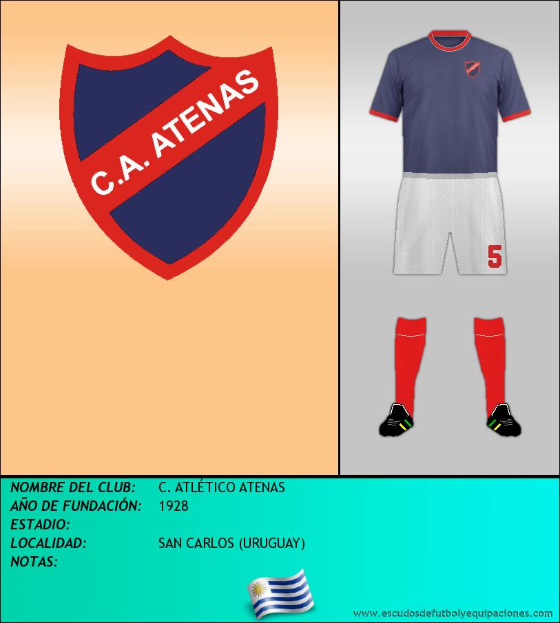 Escudo de C. ATLÉTICO ATENAS