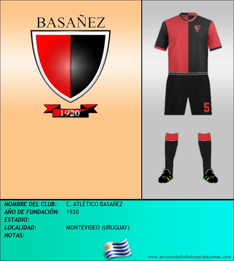Escudo de C. ATLÉTICO BASAÑEZ