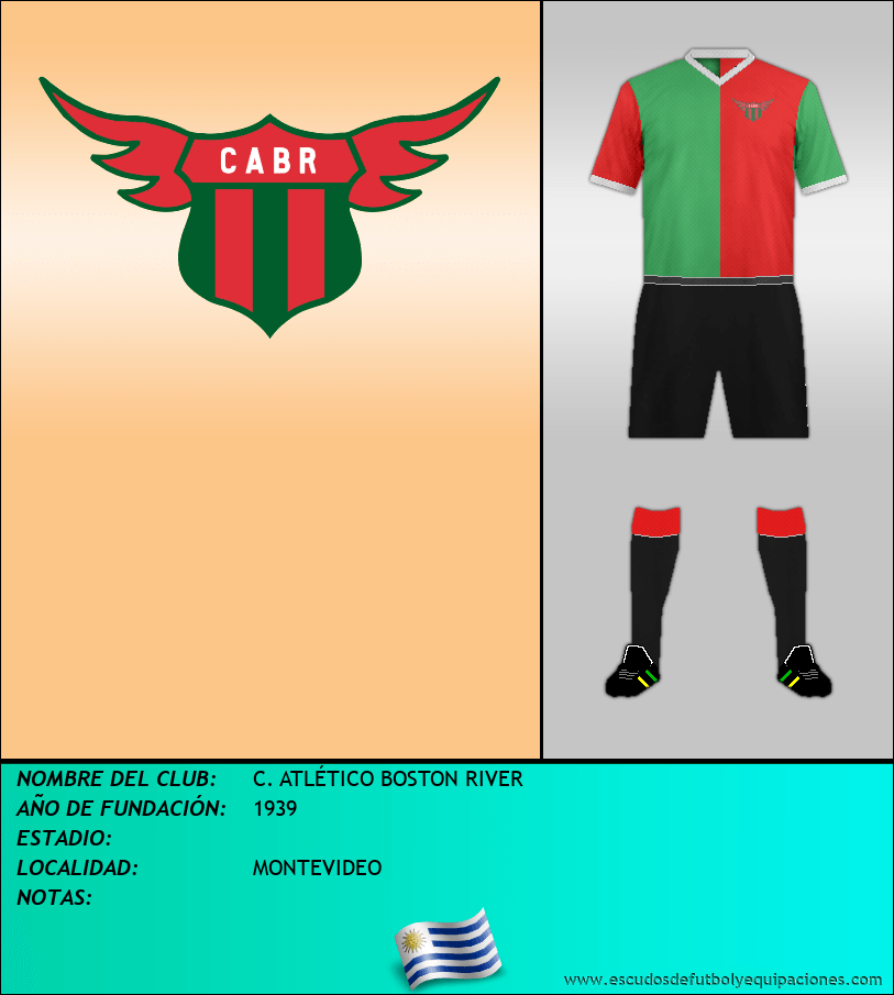 Escudo de C. ATLÉTICO BOSTON RIVER