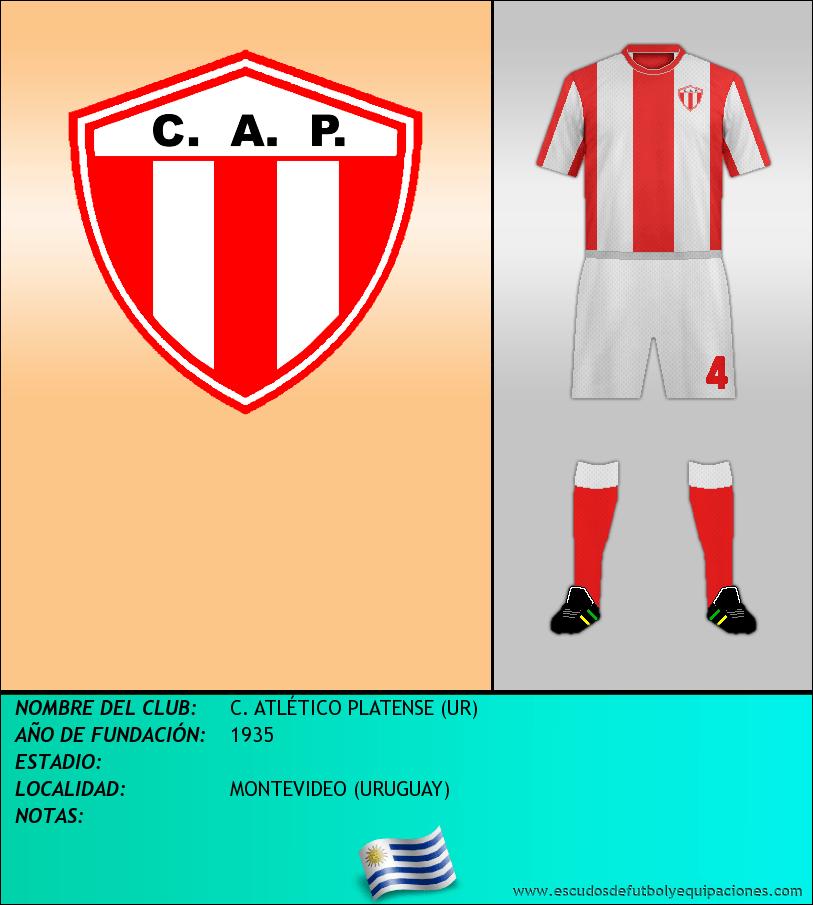Escudo de C. ATLÉTICO PLATENSE (UR)