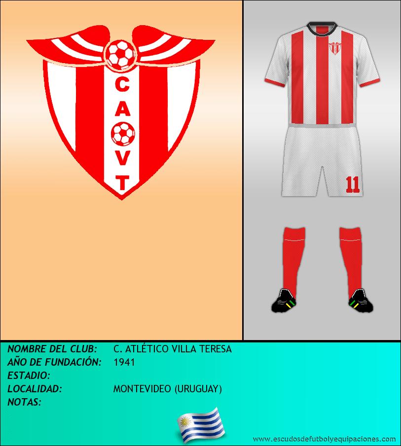 Escudo de C. ATLÉTICO VILLA TERESA