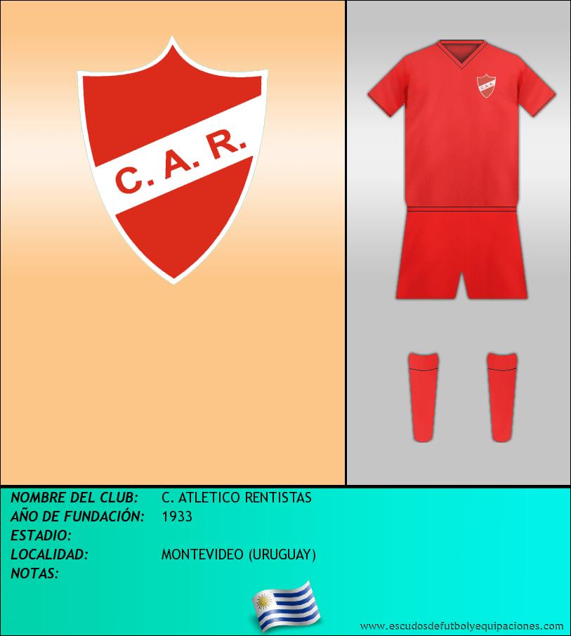 Escudo de C. ATLETICO RENTISTAS