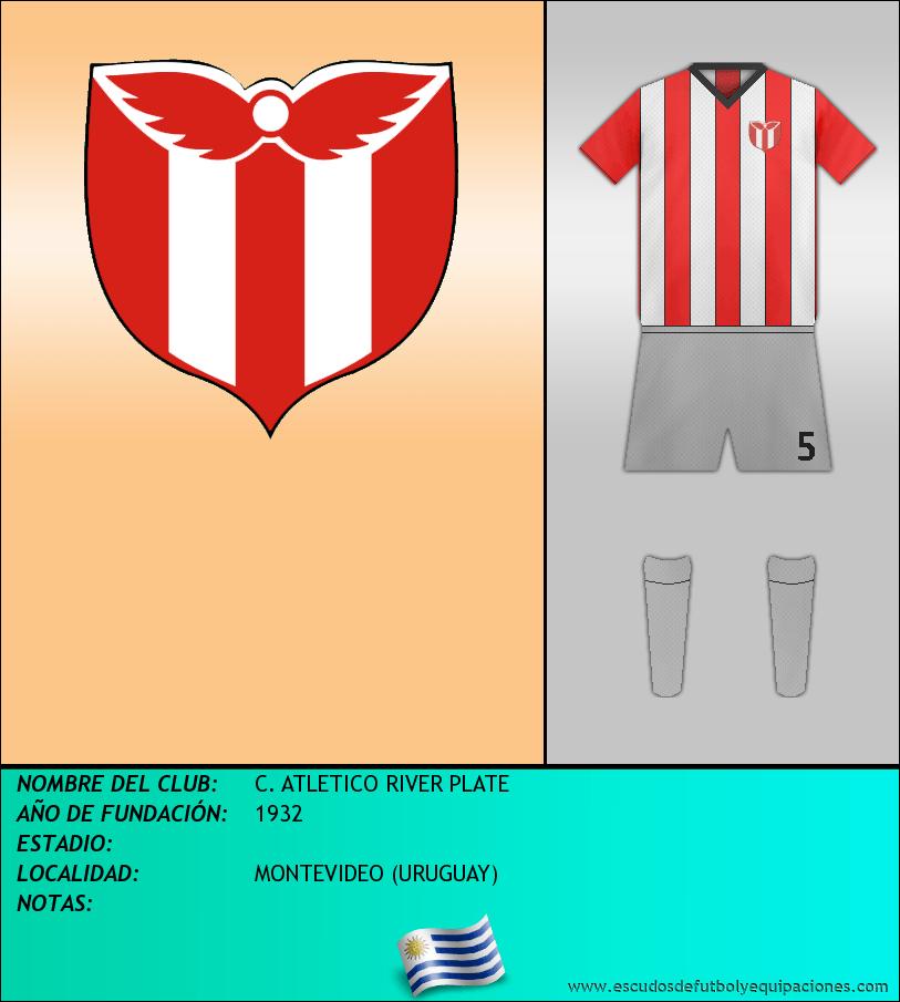 Escudo de C. ATLETICO RIVER PLATE