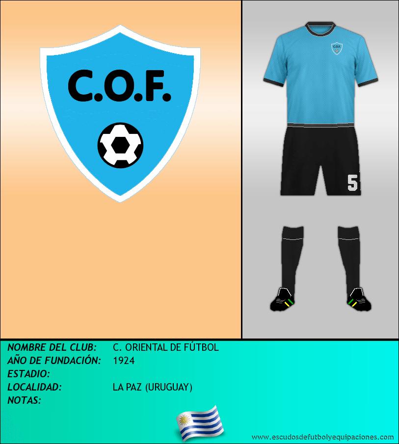Escudo de C. ORIENTAL DE FÚTBOL