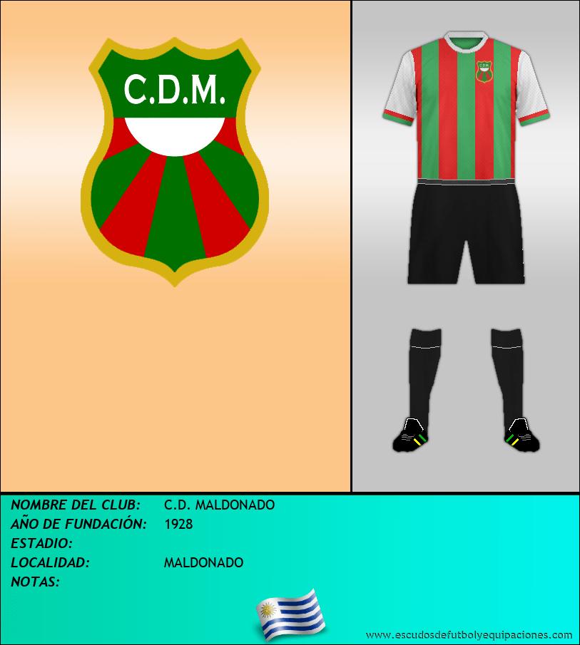 Escudo de C.D. MALDONADO