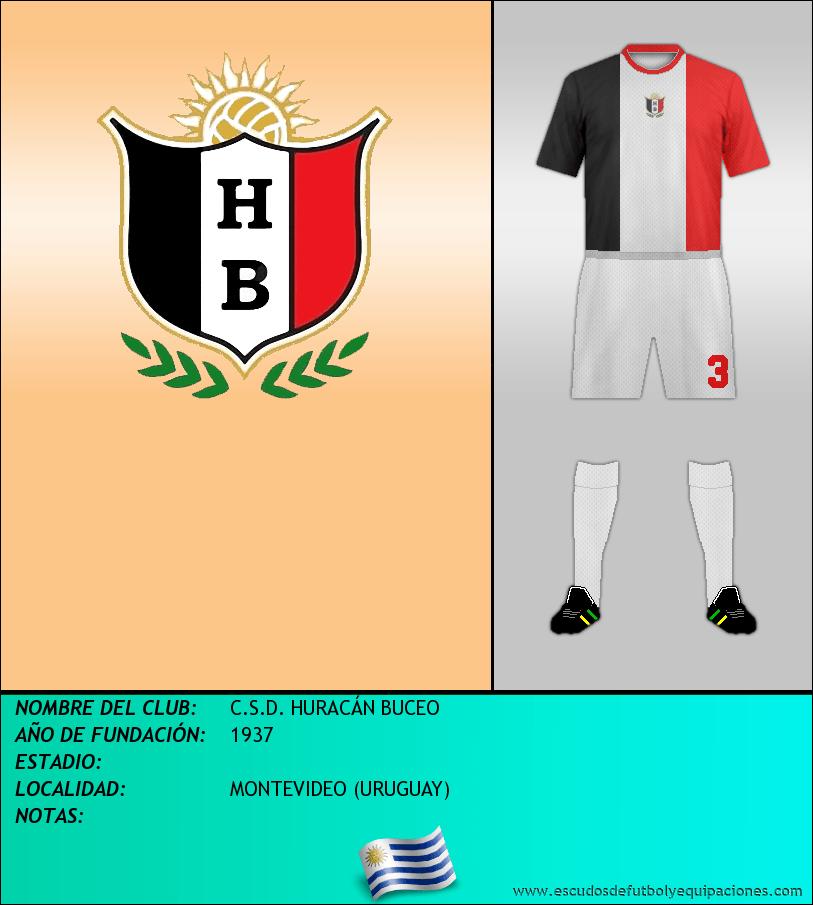 Escudo de C.S.D. HURACÁN BUCEO