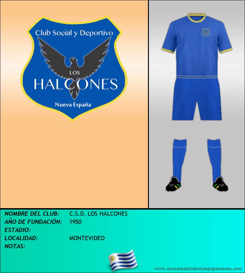 Escudo de C.S.D. LOS HALCONES