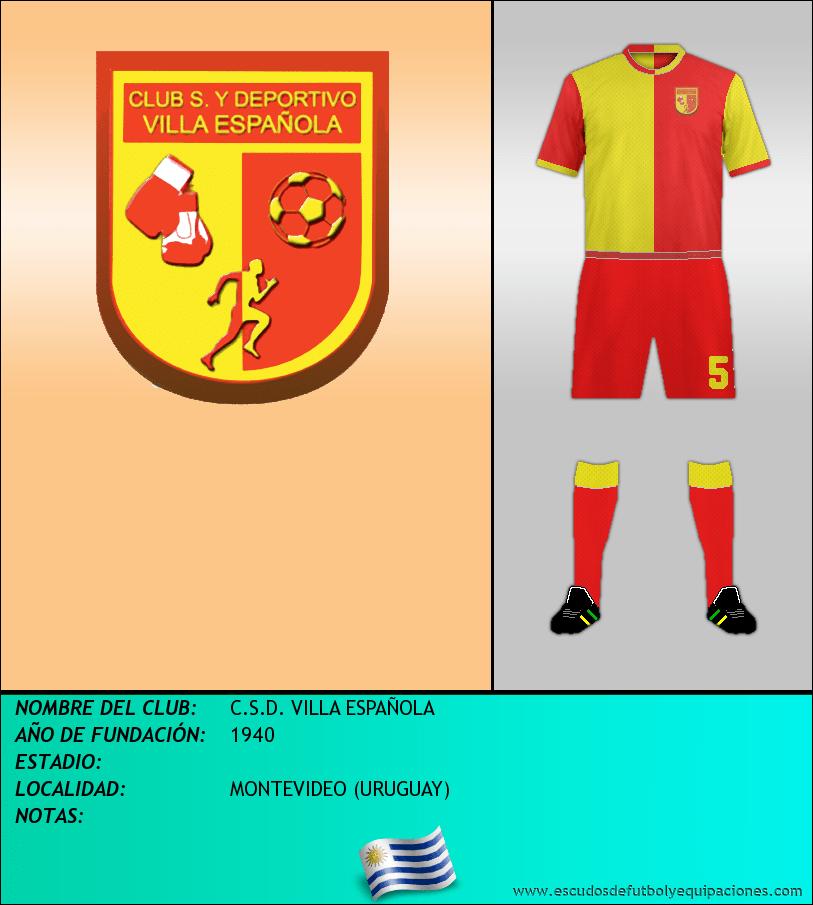 Escudo de C.S.D. VILLA ESPAÑOLA