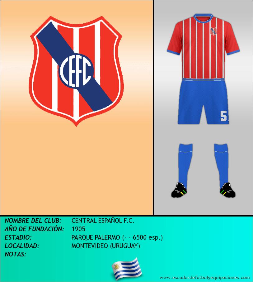 Escudo de CENTRAL ESPAÑOL F.C.