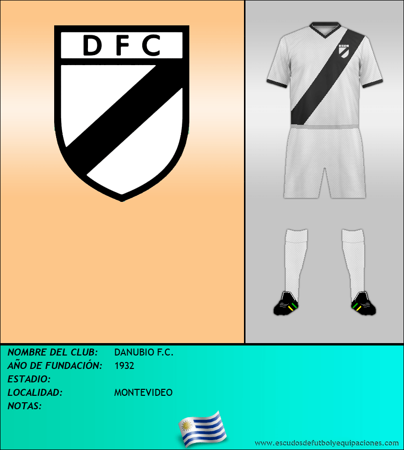 Escudo de DANUBIO F.C.
