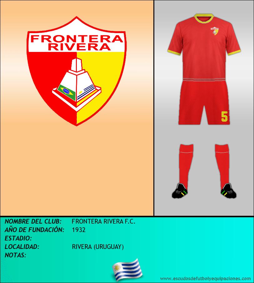 Escudo de FRONTERA RIVERA F.C.