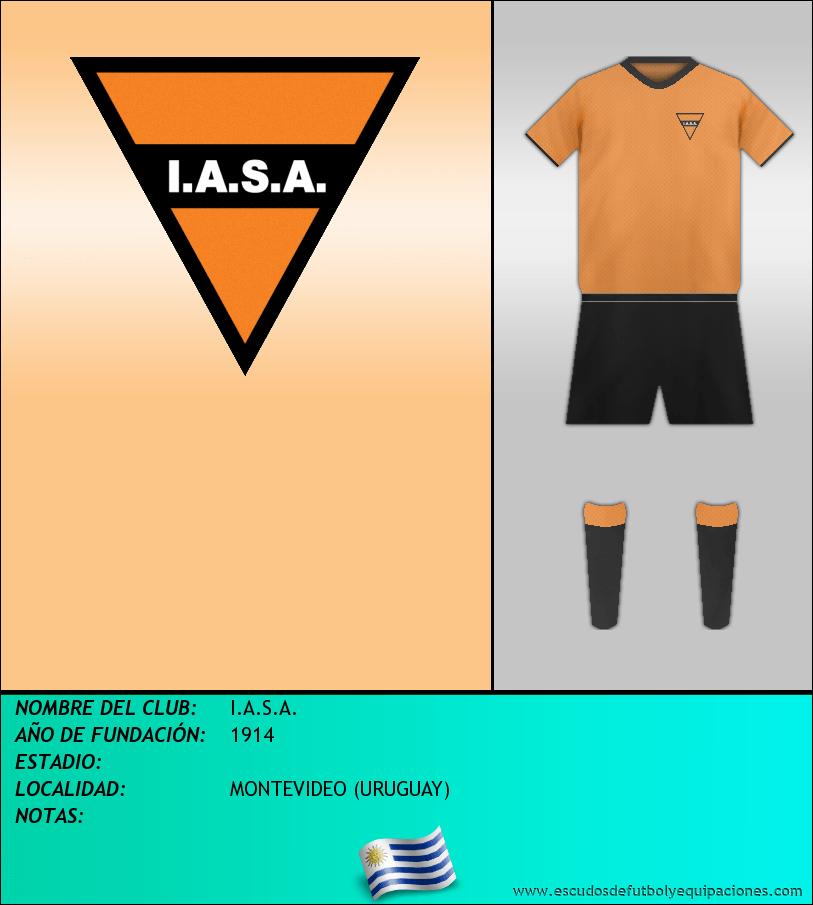 Escudo de I.A.S.A.