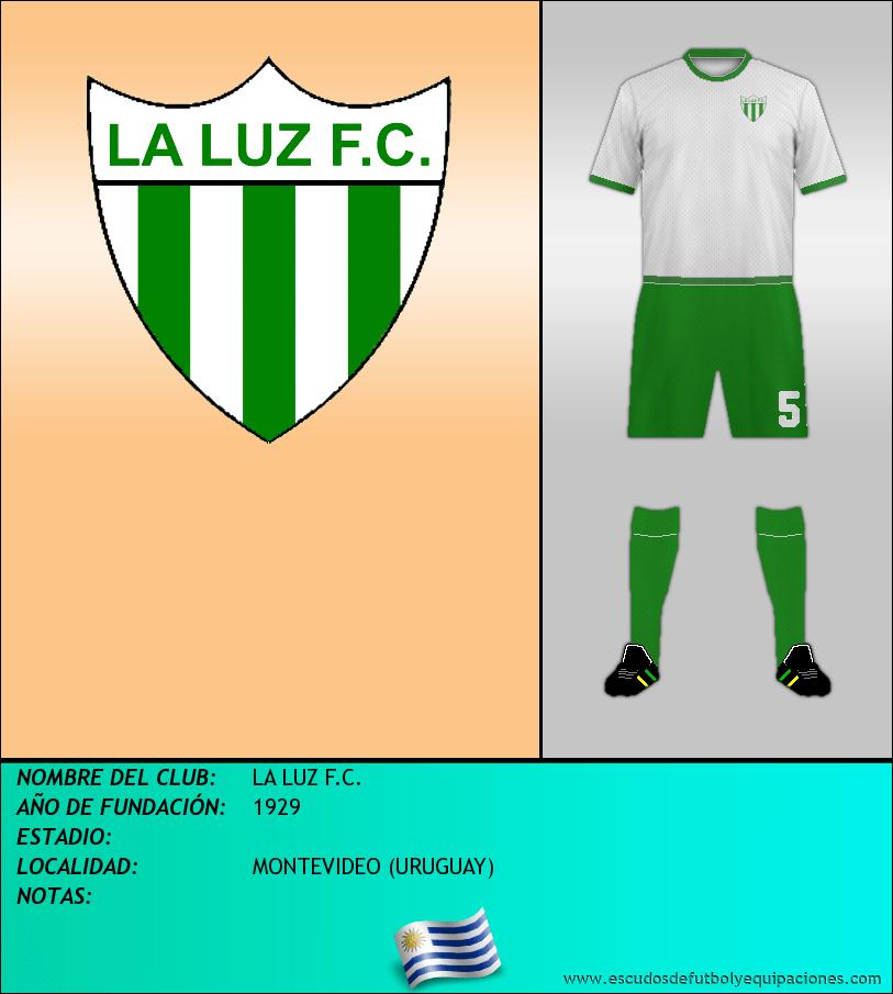 Escudo de LA LUZ F.C.