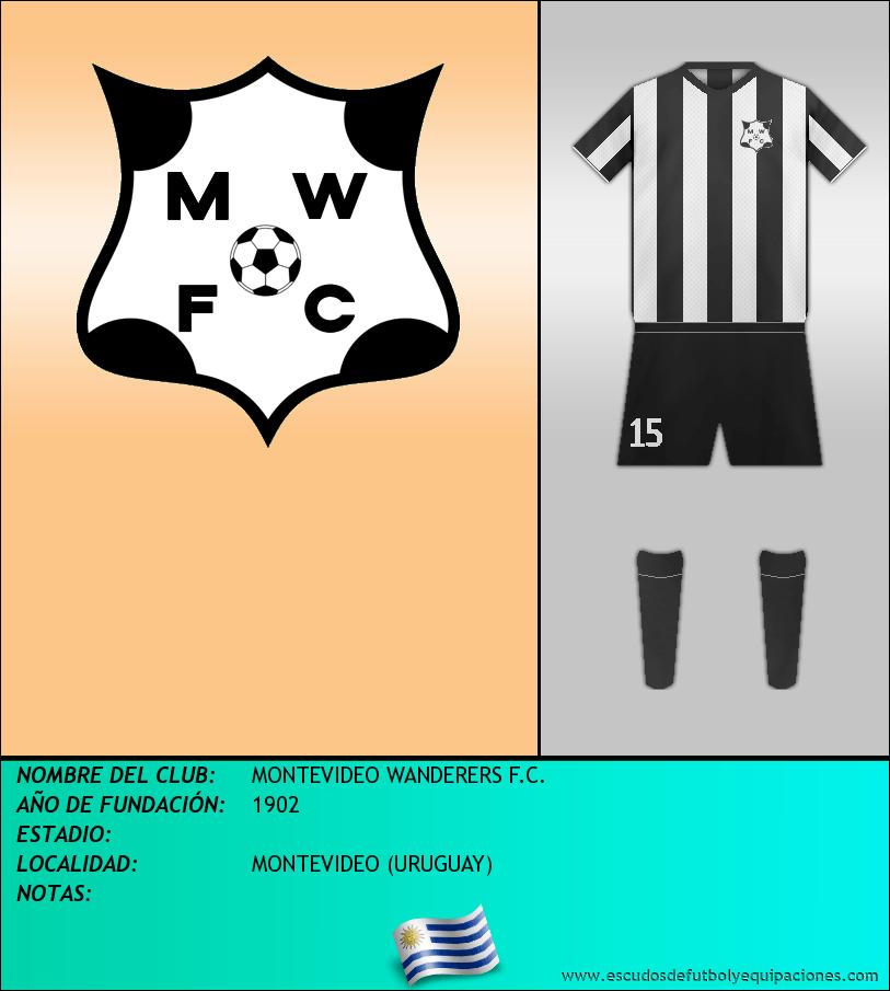 Escudo de MONTEVIDEO WANDERERS F.C.