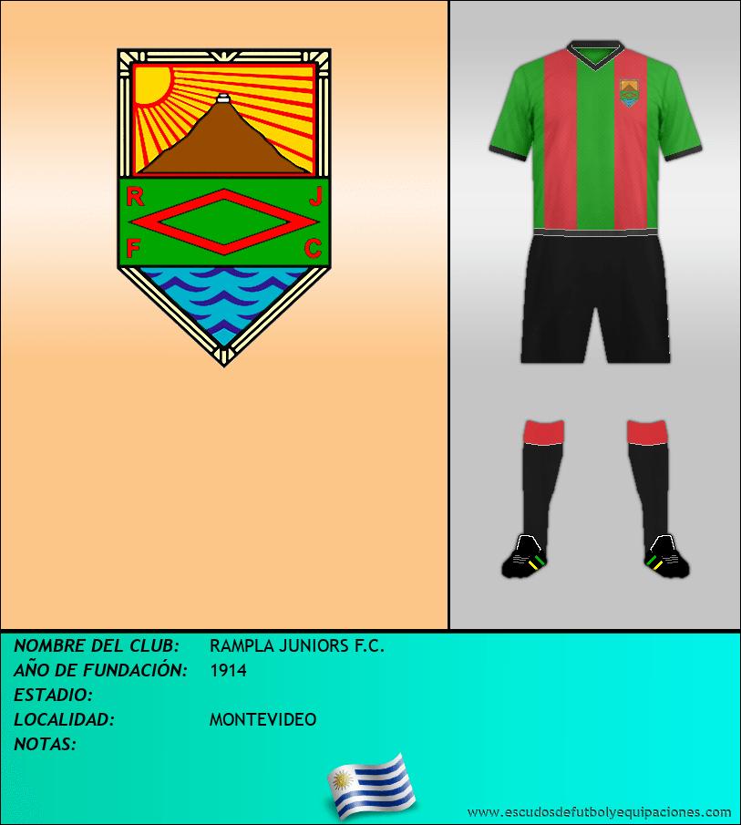 Escudo de RAMPLA JUNIORS F.C.