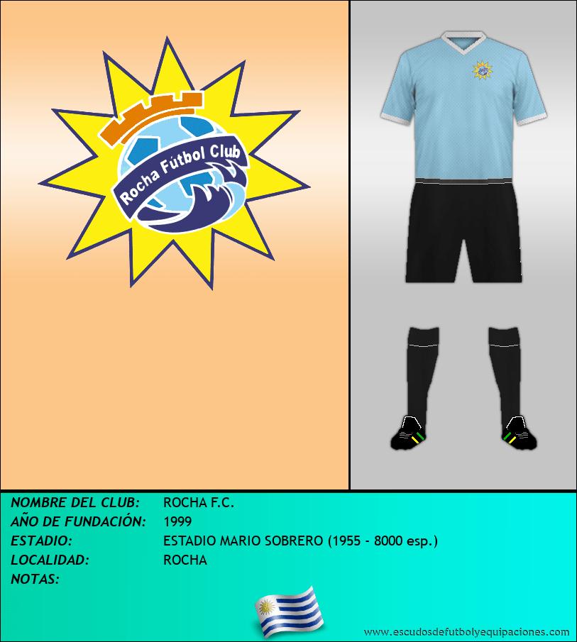 Escudo de ROCHA F.C.
