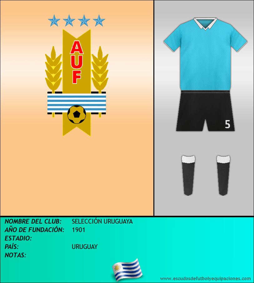 Escudo de SELECCIÓN URUGUAYA