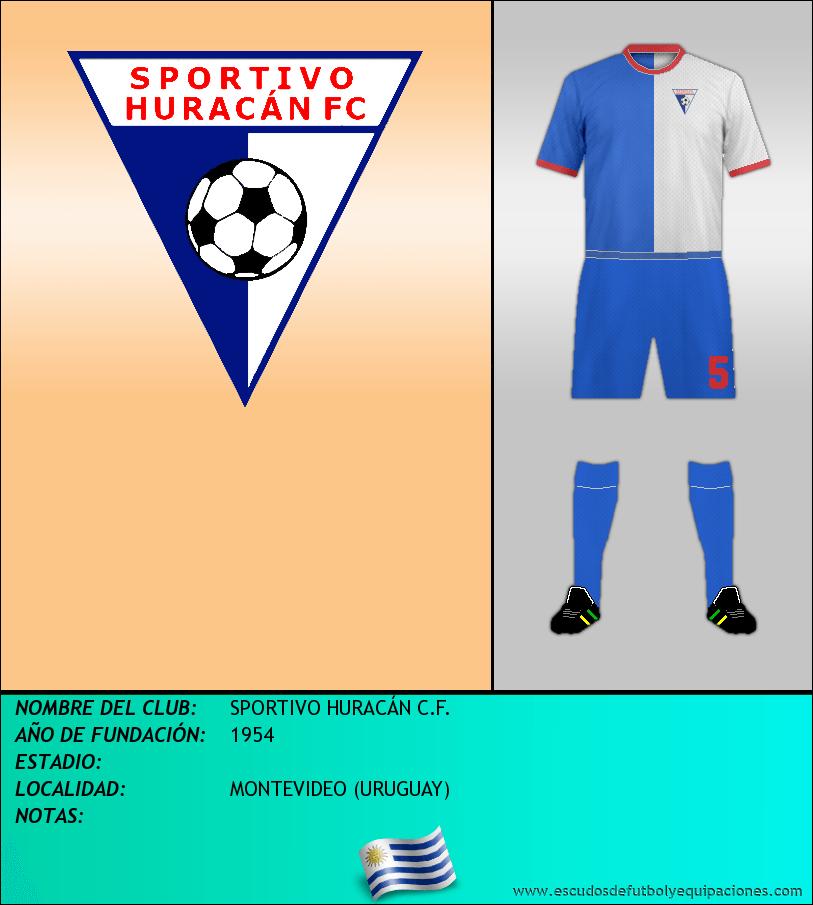 Escudo de SPORTIVO HURACÁN C.F.