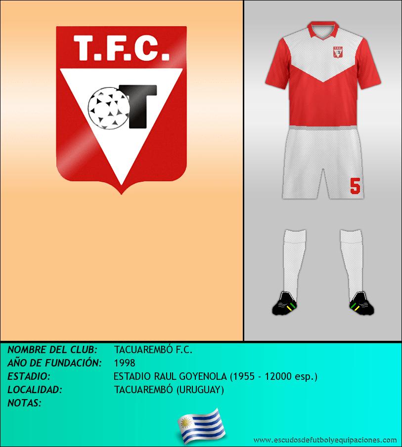 Escudo de TACUAREMBÓ F.C.