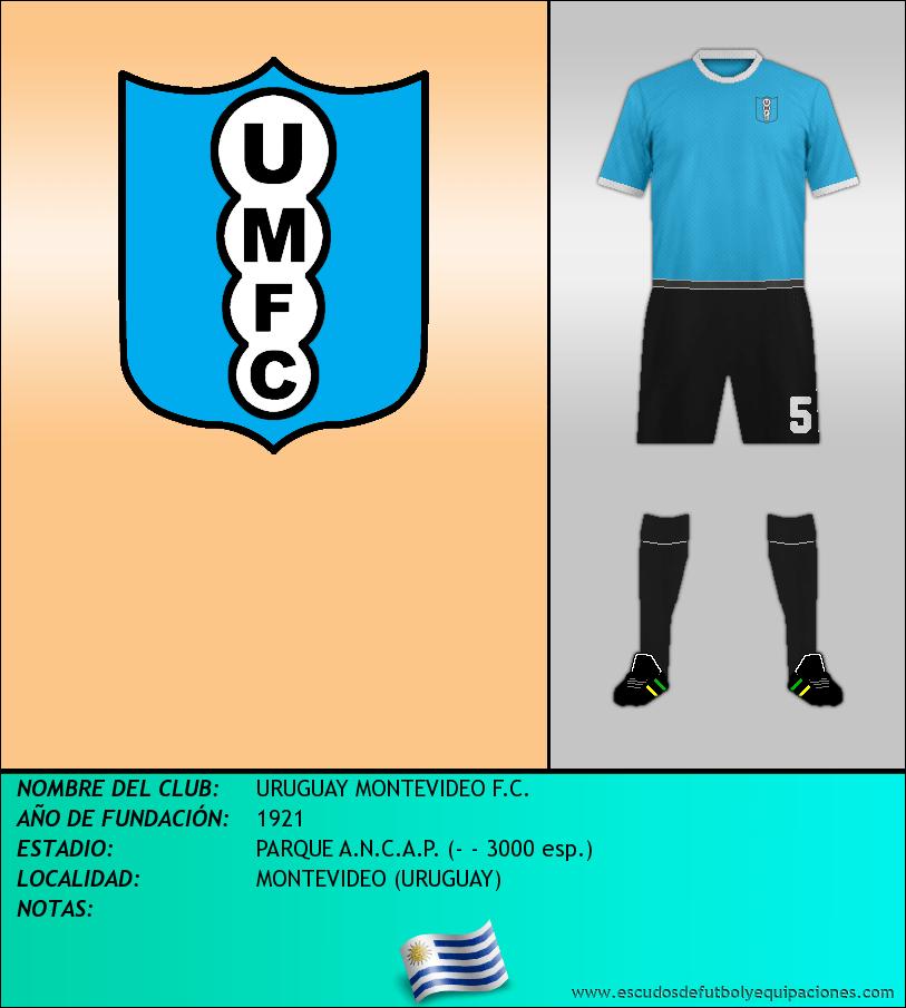 Escudo de URUGUAY MONTEVIDEO F.C.