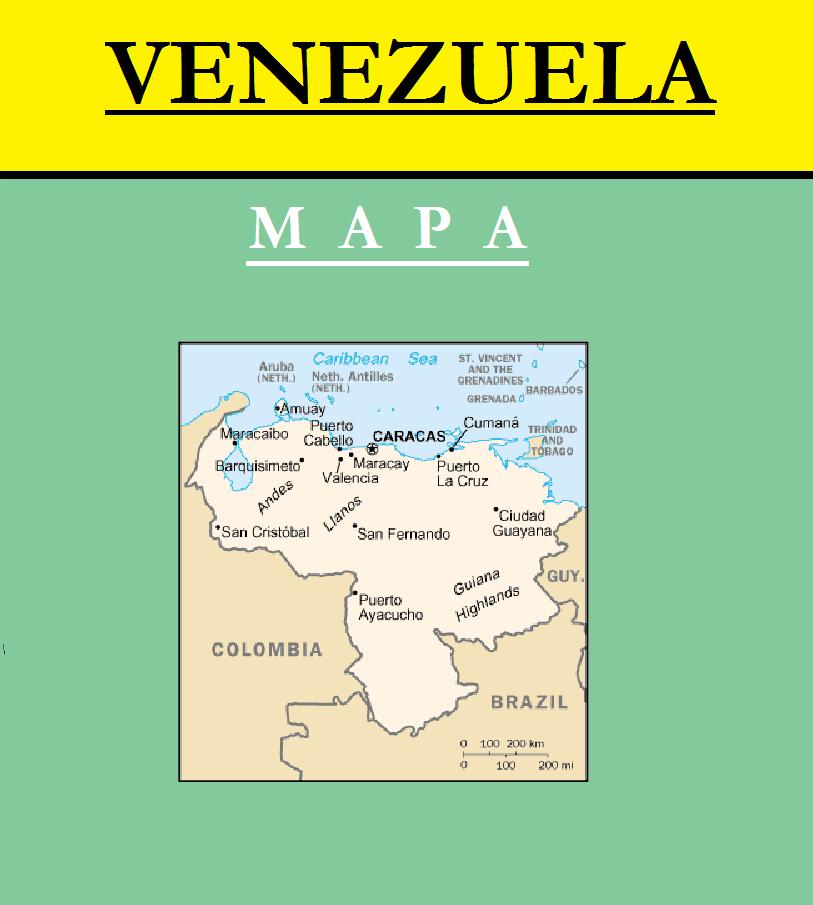 Escudo de MAPA DE VENEZUELA