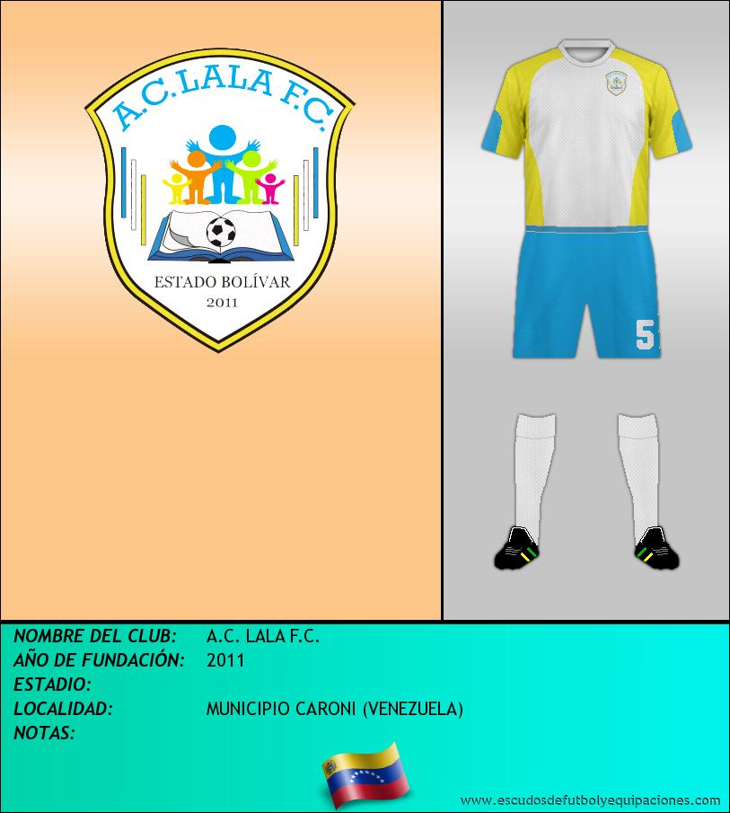 Escudo de A.C. LALA F.C.