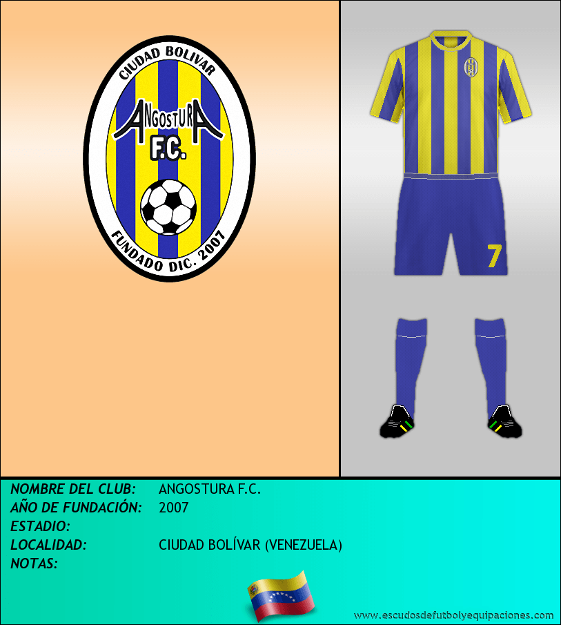 Escudo de ANGOSTURA F.C.