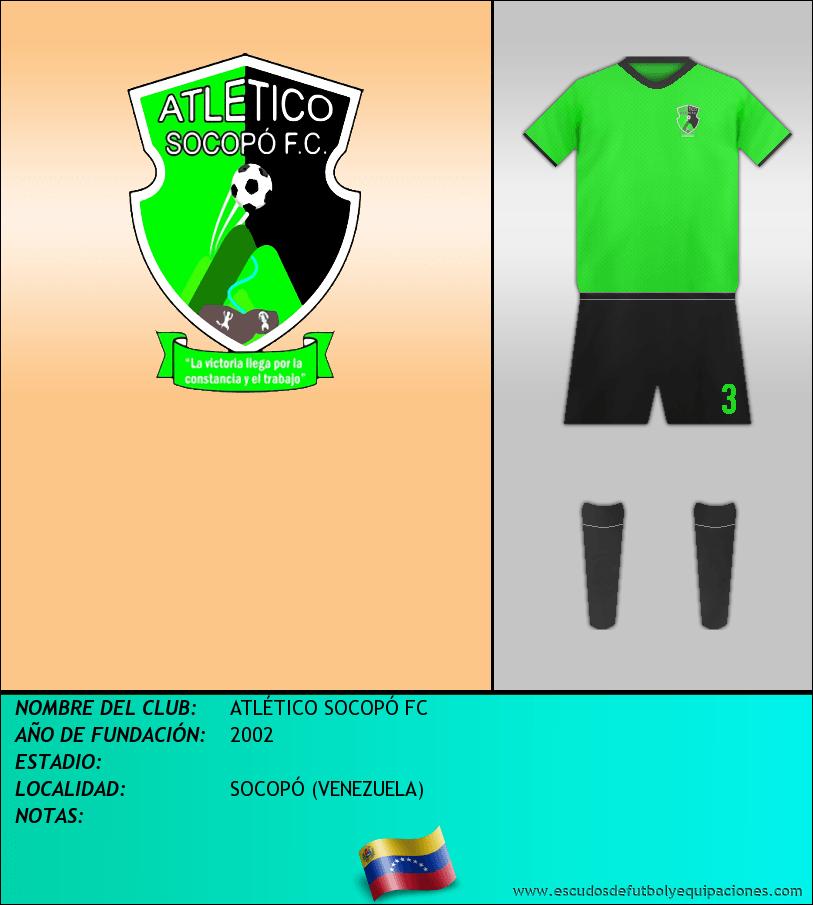 Escudo de ATLÉTICO SOCOPÓ FC