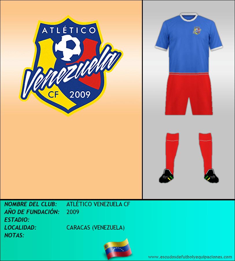 Escudo de ATLÉTICO VENEZUELA CF