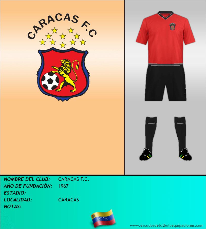 Escudo de CARACAS F.C.