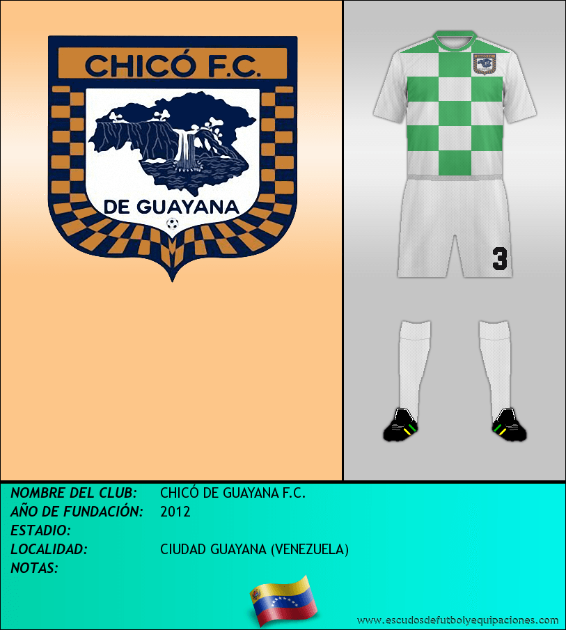 Escudo de CHICÓ DE GUAYANA F.C.