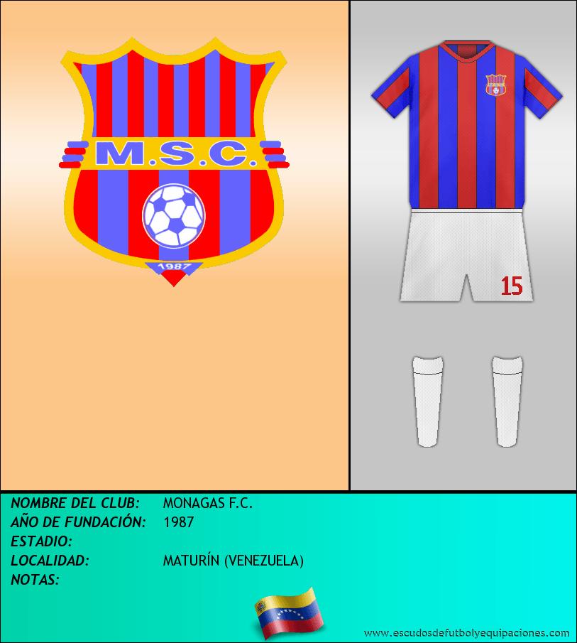 Escudo de MONAGAS F.C.