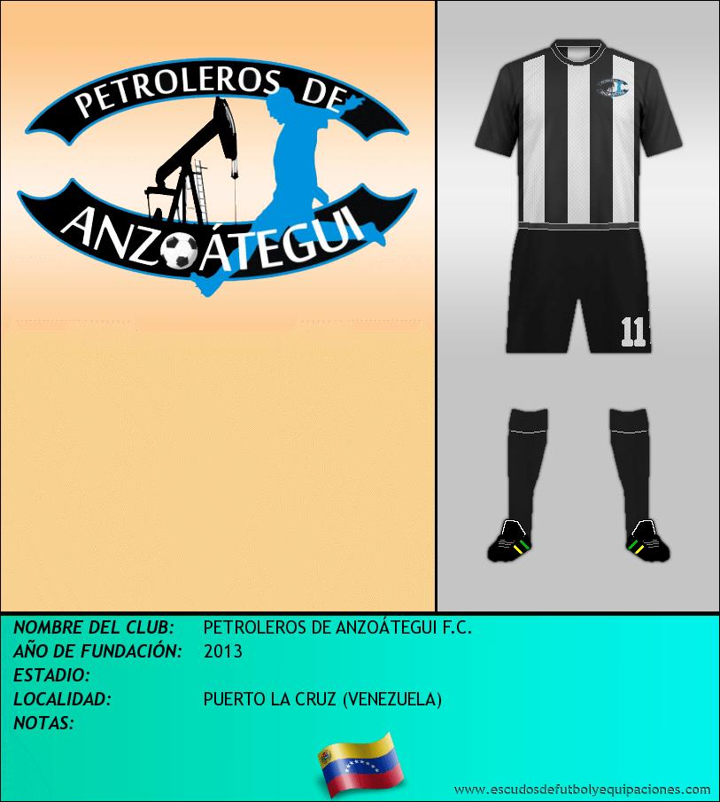 Escudo de PETROLEROS DE ANZOÁTEGUI F.C.
