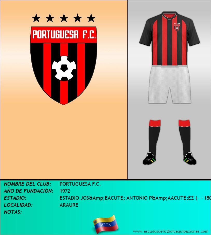 Escudo de PORTUGUESA F.C.
