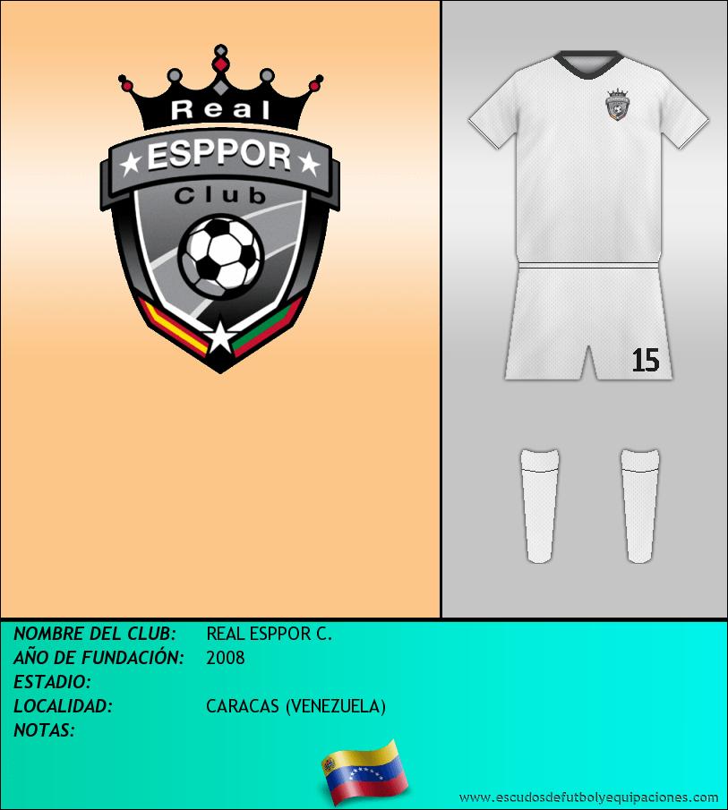 Escudo de REAL ESPPOR C.