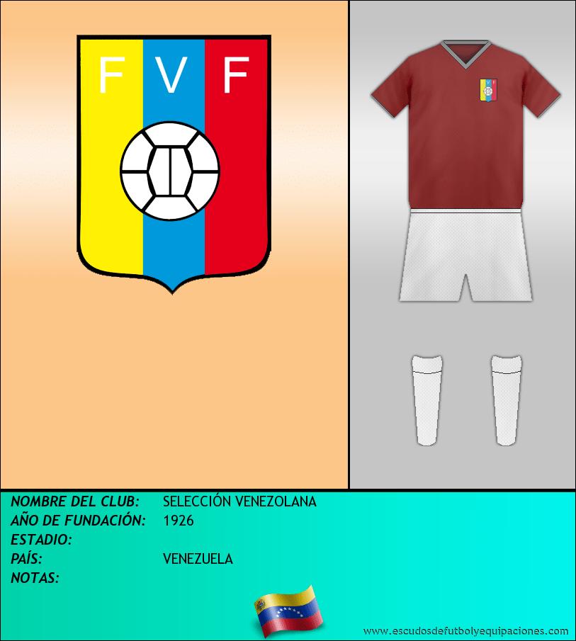 Escudo de SELECCIÓN VENEZOLANA