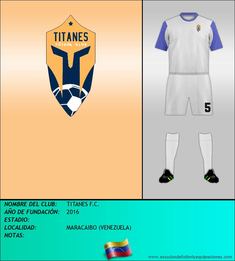 Escudo de TITANES F.C.