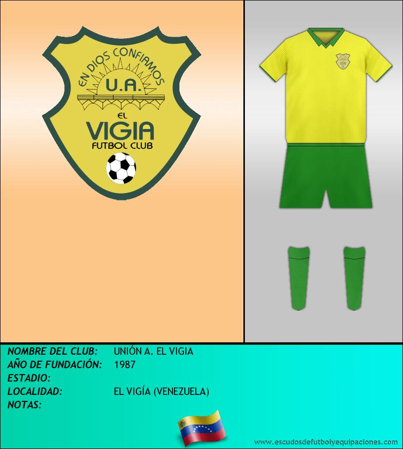 Escudo de UNIÓN A. EL VIGIA