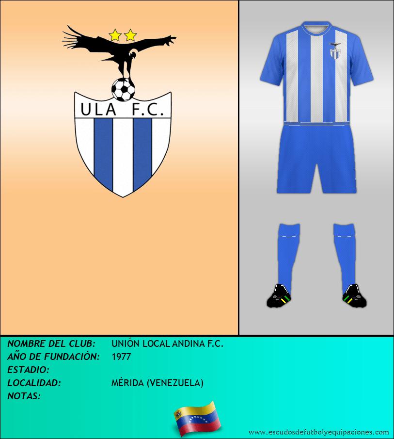 Escudo de UNIÓN LOCAL ANDINA F.C.